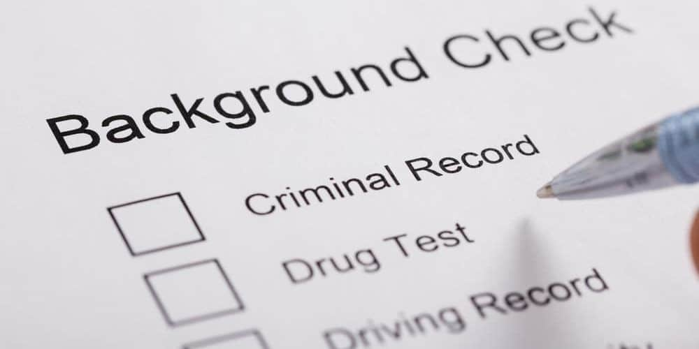 background check document