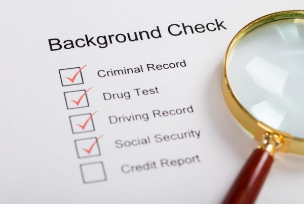 employment background screening services